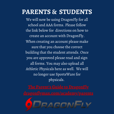 DragonFly Information for athletes 7th - 12th