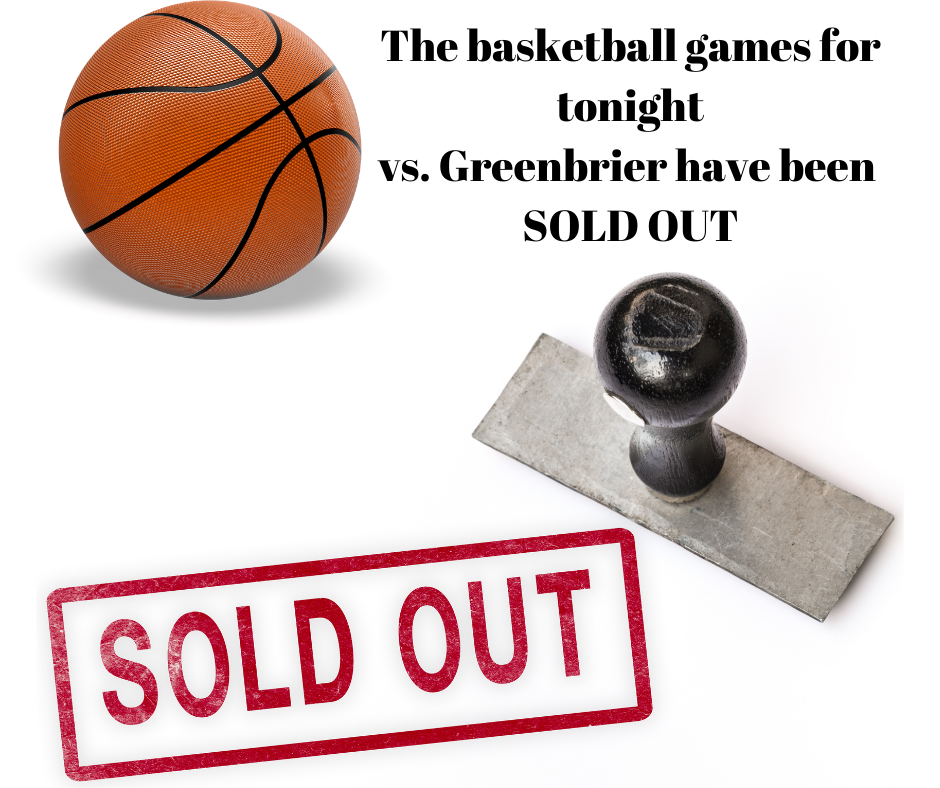 basketball and sold out stamp