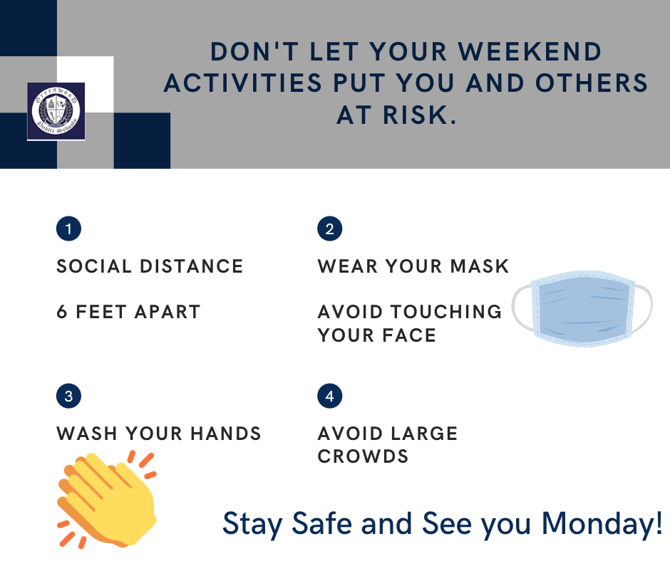 Weekend safety tips