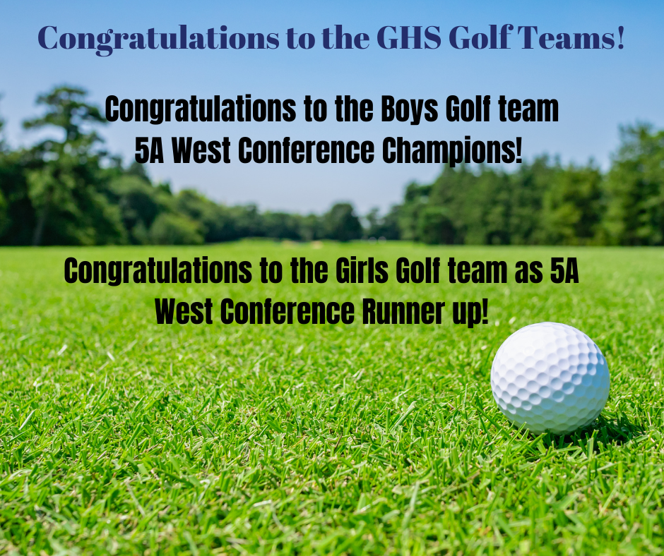 Golf Conference Champions/Runner Up